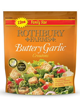 RF 12oz Buttery Garlic Croutons Pouch