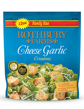 RF 12oz Cheese Garlic Croutons Pouch