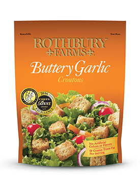 RF 5oz Buttery Garlic Croutons Pouch