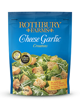 RF 5oz Cheese Garlic Croutons Pouch