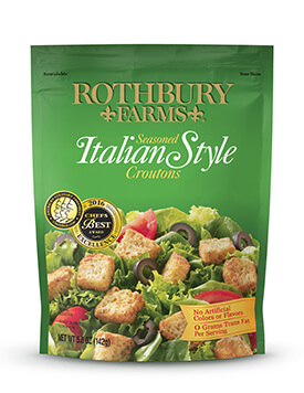 RF 5oz Italian Croutons Pouch
