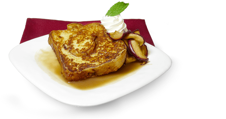 Apple Fritter Bread French Toast Rothbury Farms