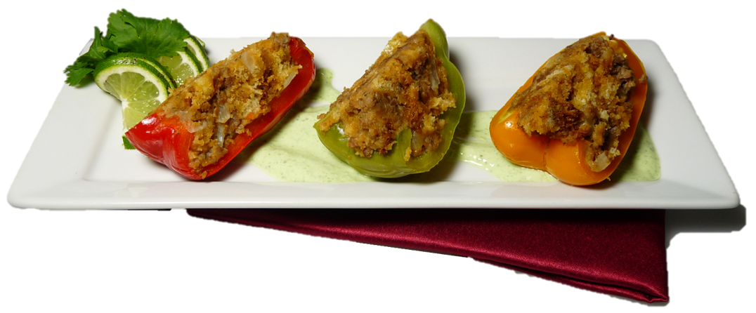 Stuffed Peppers with Sausage Photo - Final