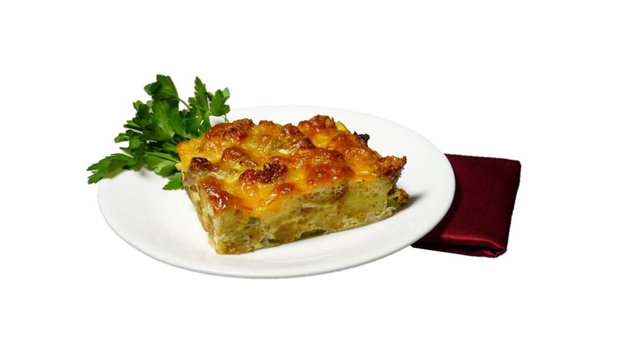Sausage and Cheese Strata Photo Compressed