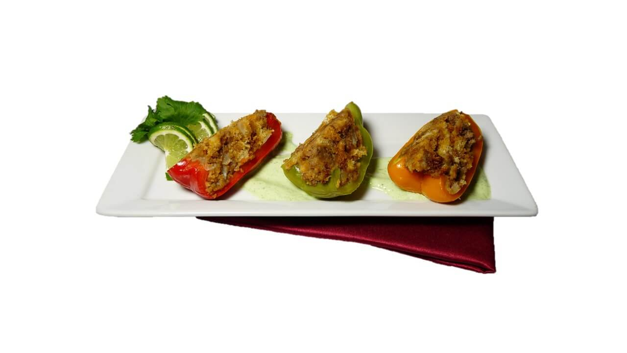 Stuffed Peppers with Sausage - Compressed
